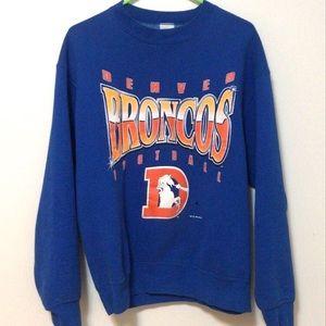 Denver Broncos vintage crew neck